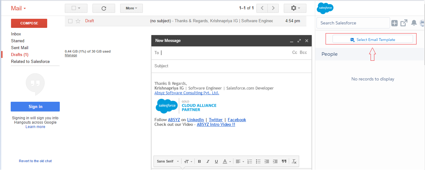 Salesforce Summer 17 Release Lightning For Gmail Part I Absyz