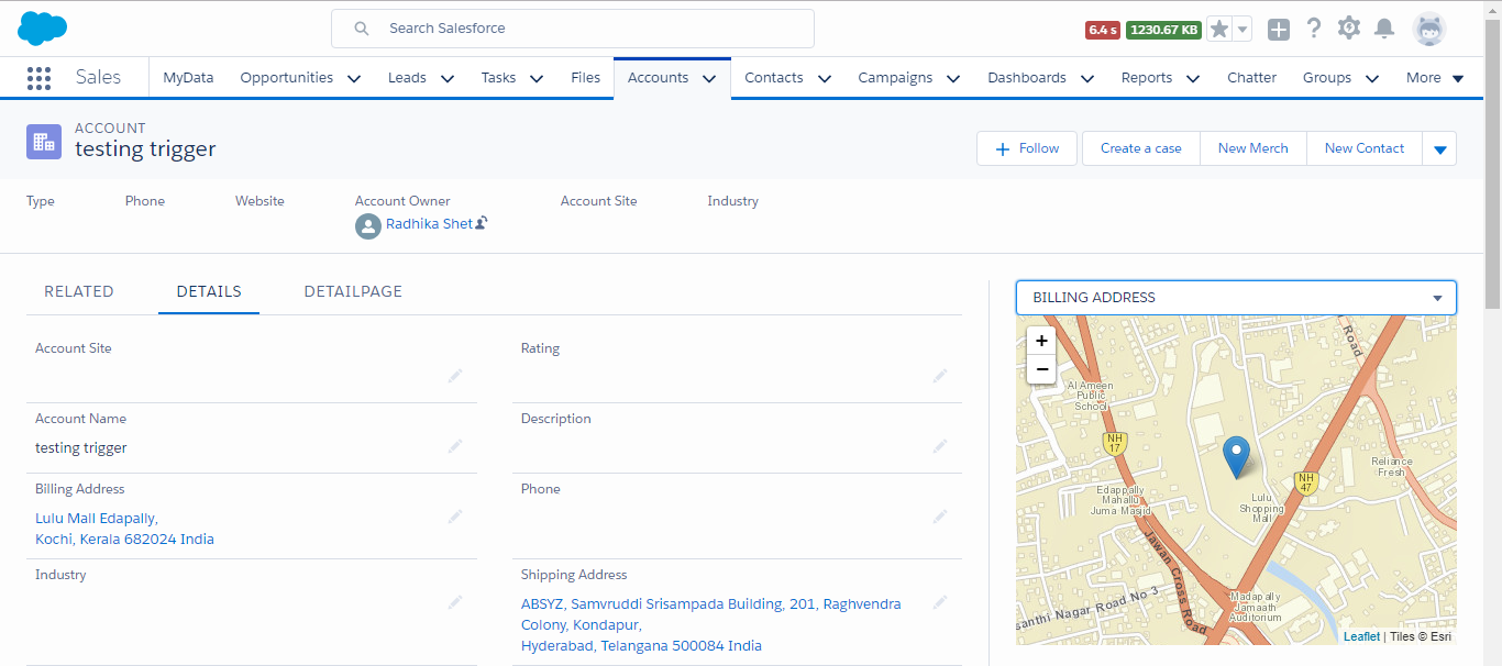 Configurable Map Component for Lightning Record Pages – ABSYZ